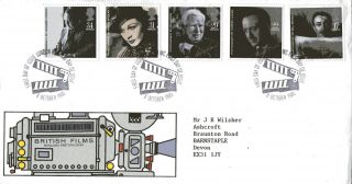 8 October 1985 British Film Year Royal Mail First Day Cover London Wc Shs photo