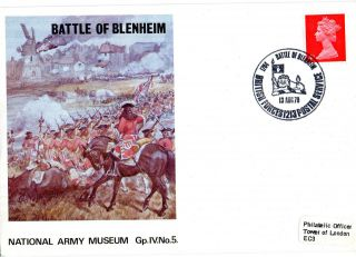 1970 Battle Of Blenheim Iv/5 Army Museum Commemorative Cover Shs photo