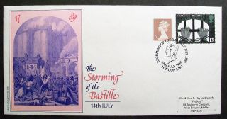 Gb Cover 200th Anniversary The Storming Of The Bastille 14/07/89 London Sw1 Shs photo