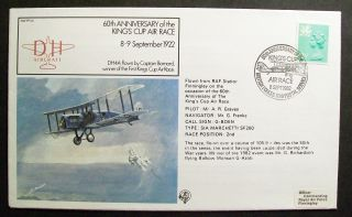 Gb Cover 60th Anniversary Of The King ' S Cup Air Race 08/09/82 Bfps 1788 Shs photo