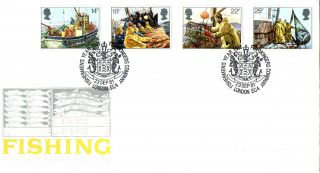 23 September 1981 Fishing Post Office First Day Cover Fishermans Company Shs photo