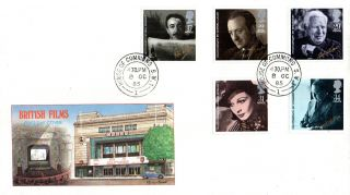 8 October 1985 British Film Year Philart First Day Cover House Of Commons Sw1 Cd photo