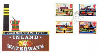 20 July 1993 Canals Royal Mail First Day Cover House Of Commons Sw1 Cds photo