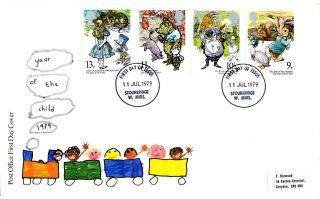 11 July 1979 International Year Of The Child Po Fdc Appropriate Stourbridge Cds photo