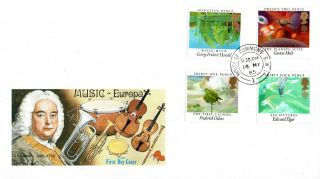 14 May 1985 British Composers Philart First Day Cover House Of Commons Sw1 Cds photo
