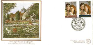 22 July 1986 Royal Wedding G&p First Day Cover Dummer Basingstoke Shs photo