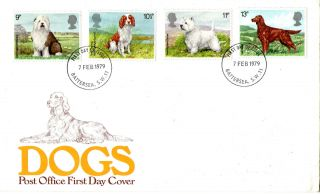 7 February 1979 Dogs Post Office First Day Cover Scarce Battersea Sw11 Fdi photo