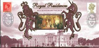 6 January 2000 Benham Royal Residences Buckingham Palace Commemorative Cover photo
