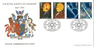 5 March 1991 Scientific Achievement Official Bradbury First Day Cover Rsc Shs photo