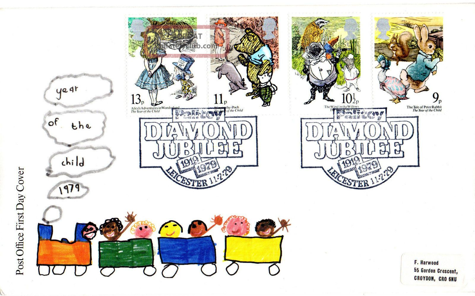11 July 1979 International Year Of The Child Po First Day Cover Palitoy Shs Topical Stamps photo