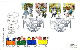 11 July 1979 International Year Of The Child Po First Day Cover Palitoy Shs photo