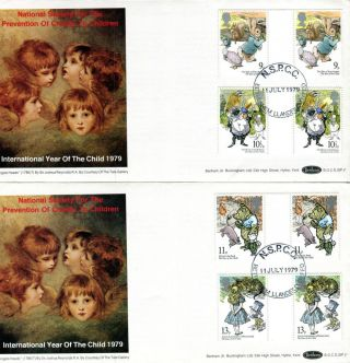 11 July 1979 Year Of The Child Gps 2 Benham Bocs Sp 1 First Day Cover Nspcc Shs photo