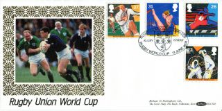 11 June 1991 Sport Benham Blcs 65 First Day Cover Rugby School Rugby Shs photo