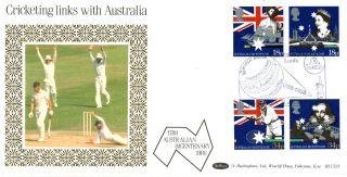 21 June 1988 Australian Bicentenary Benham Blcs 33 First Day Cover Lords Shs A photo