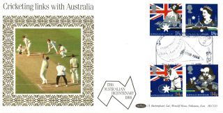 21 June 1988 Australian Bicentenary Benham Blcs 33 First Day Cover Headingley photo