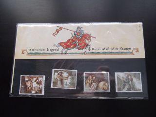 1985 Arthurian Legend Royal Mail Presentation Pack 164 Um photo