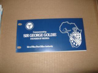 Isle Of Man Presentation Pack Sir George Goldie photo