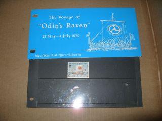 Isle Of Man Presentation Pack Voyage Odins Raven photo