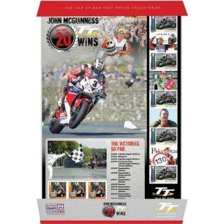 The 2014 John Mcguinness – The First 20 Tt Wins Smiler Sheet photo