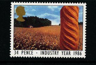 P253 Gb 1986 Sg1311 34p Agriculture photo