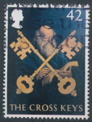 L191 Gb 2003 Sg2394 42p Pub Sign - The Cross Keys photo