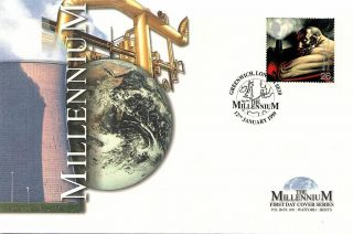 (51031) Fdc: 1999 Blast Furnace Worker - Limited Edition Of 5000 photo