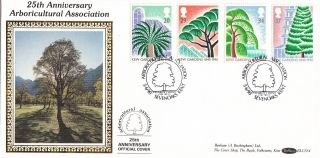 (24375) Gb Benham Fdc Kew Gardens - Sevenoaks 5 June 1990 photo