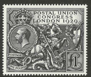 1929 Postal Union Congress £1 (perfect Facsimile) photo
