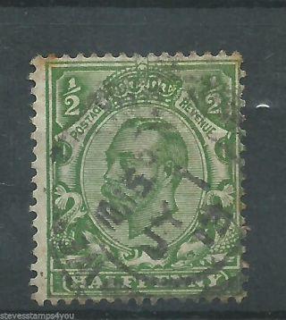 George V - 1912 - Sg346 - Cv £ 8.  00 - photo