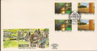 Gb :1986 Industry Year - Hovis Centenary Special Cancel photo