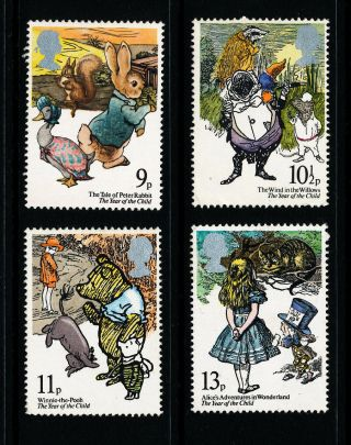 B197 Gb 1979 Sg1091 - 4 International Year Of The Child photo