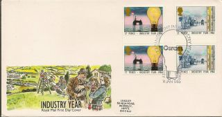 Gb :1986 Industry Year - Osram Special Cancel photo