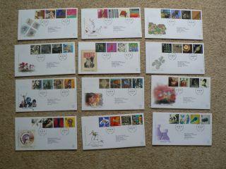 1999 Royal Mail Fdc: Millennium Tales,  Individually photo