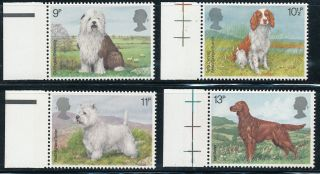 K104 Gb 1979 Sg1075 - 8 Dogs photo