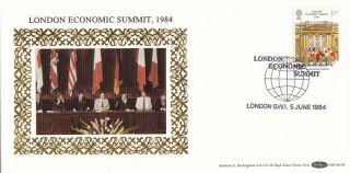 (24410) Gb Benham Fdc London Economic Summit - 5 June 1983 photo