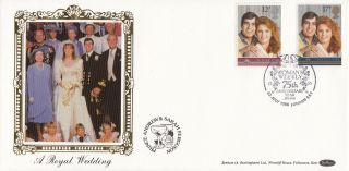 1986 Gb Benham Royal Wedding Fdc With Woman ' S Weekly London Se1 Postmark photo