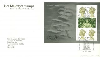 Royal Mail Her Majestys Stamp Show Miniature Sheet Fdc Fdi Westminster 2000 Shs photo