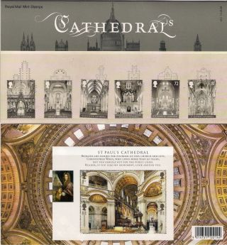 Gb 2008 Cathedrals St.  Pauls Presentation Pack 413 photo