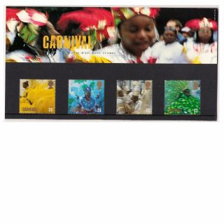 Gb 1998 Notting Hill Carnival - Festivals - Europa - Presentation Pack 290 photo