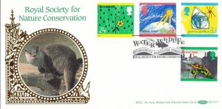 (24398) Gb Benham Fdc Green Issue Ozone Acid / Rain - Otterhampton 15 Sept 1992 photo