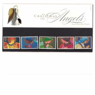 Gb 1998 Christmas Angels Presentation Pack 292 photo