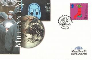 (51055) Fdc: 1999 Water Tap - Millennium Limited Edition Of 5000 photo