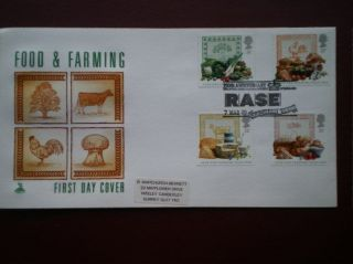 Cover Mercury 1989 Farming Cat Value £8.  50 Special Hand Stamp photo