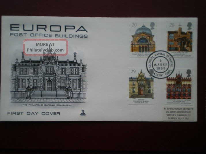Cover Mercury 1990 Europa Cat Value £10 Special Hand Stamp 1971-Now photo