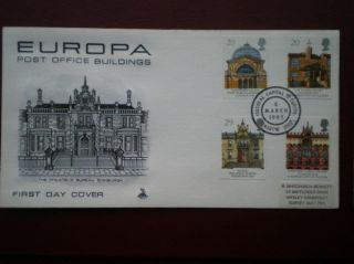 Cover Mercury 1990 Europa Cat Value £10 Special Hand Stamp photo