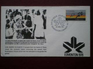 Cover The Queens Visit To Edmonton 1978 photo