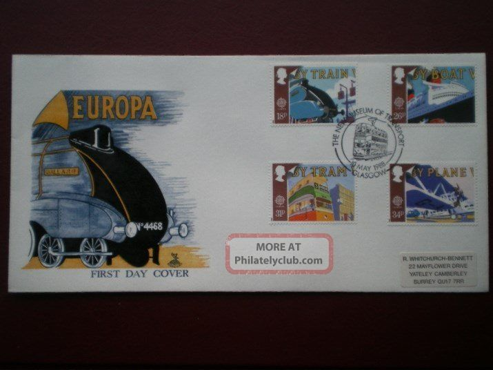 Cover Mercury 1988 Europa Cat Value £8.  5 Special Hand Stamp 1971-Now photo