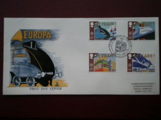 Cover Mercury 1988 Europa Cat Value £8.  5 Special Hand Stamp photo