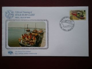 Cover Rnli Offical No 219 Peel - Naming Of Rnlb Ruby Clery photo