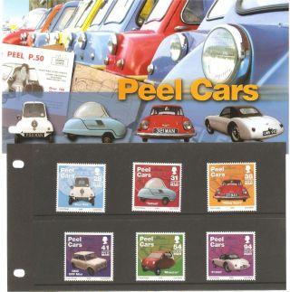 Isle Of Man Presentation Pack Peel Cars photo